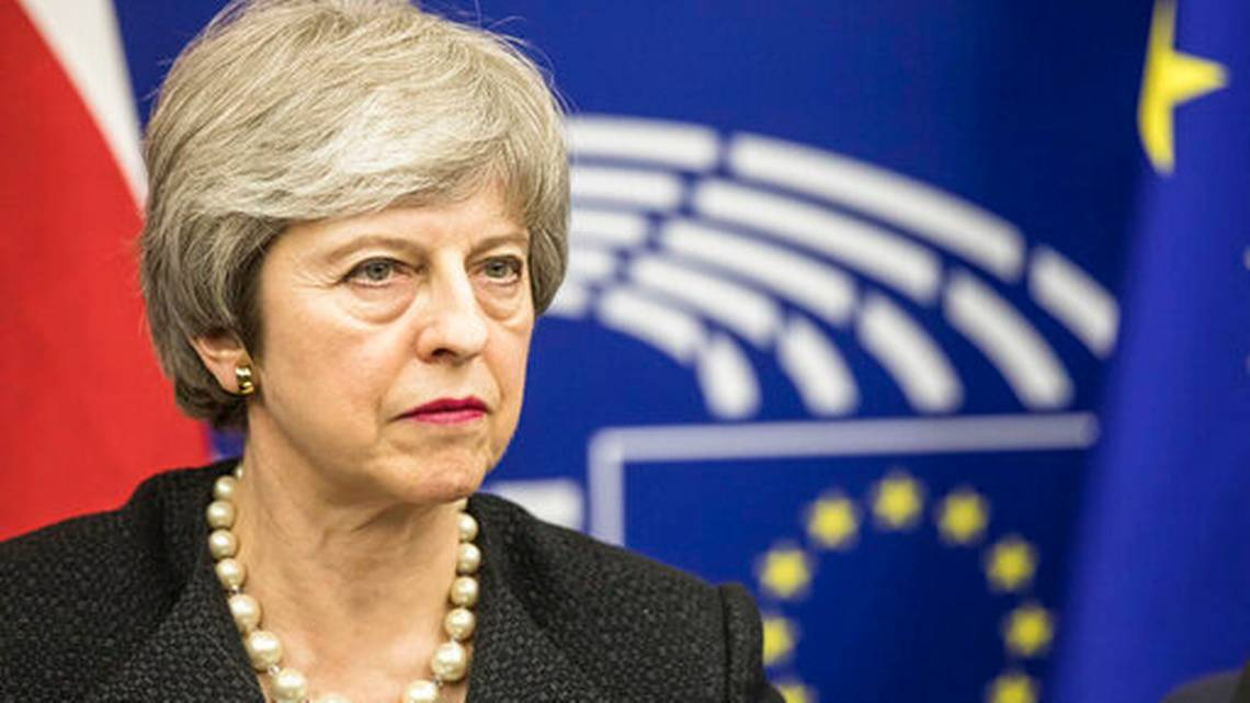 May Day: UK Parliament rejects prime minister's Brexit deal