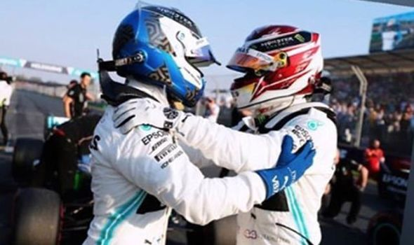 Lewis Hamilton responds to Valtteri Bottas message after Australian GP battle