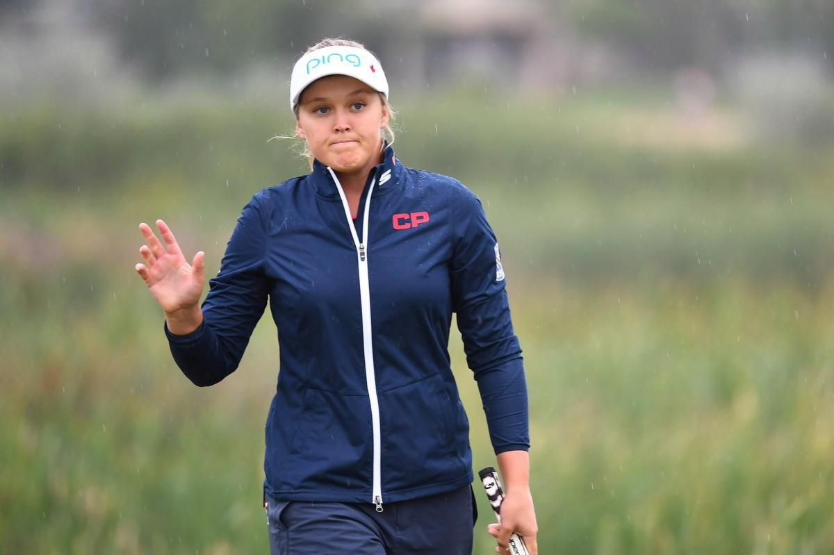 Brooke Henderson three back after opening round of LPGA Thailand