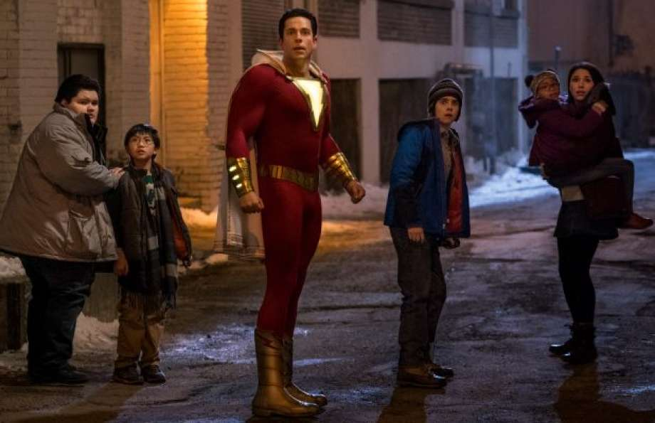 'Shazam!' Film Review: DC Comics Gets a Bouncy Burst of Big-Screen Ebullience
