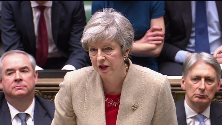 Brexit: Theresa May considers next step to break deadlock