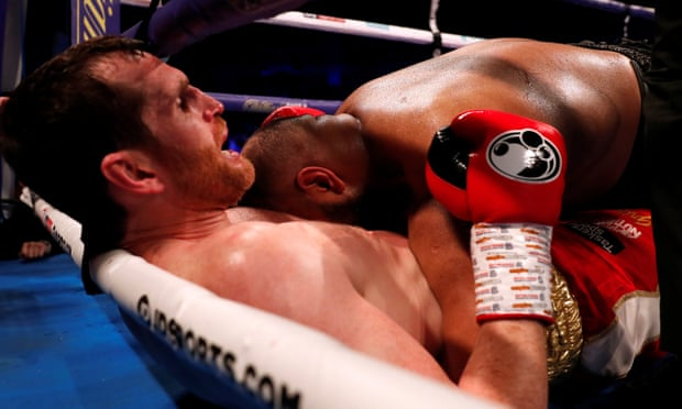 Kash Ali disqualified for biting David Price in bizarre heavyweight bout