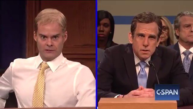 Ben Stiller, Bill Hader return to SNL to lampoon Michael Cohen hearing