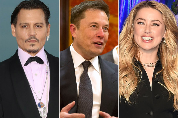 Johnny Depp says ex Amber Heard had affair with Elon Musk