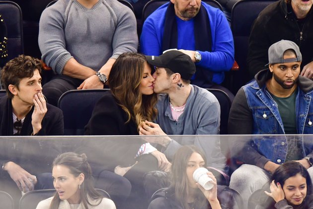 Pete Davidson And Kate Beckinsale Kissing Pics Pretty Much Confirm Theyre Dating