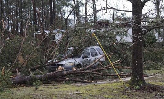 The Latest: Trump: FEMA to give Alabama 'A Plus treatment'