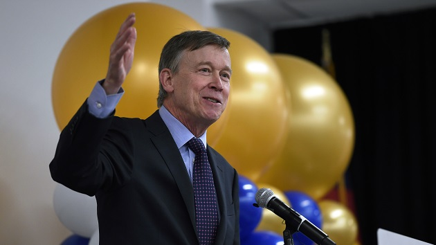 Former Colorado Gov. John Hickenlooper joins crowded 2020 Democratic field