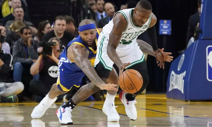 Final scores: Gordon Hayward and the Celtics thrash the Warriors 128-95 - Golden State of Mind
