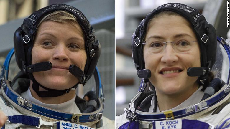 Historys first all-female spacewalk will take place March 29