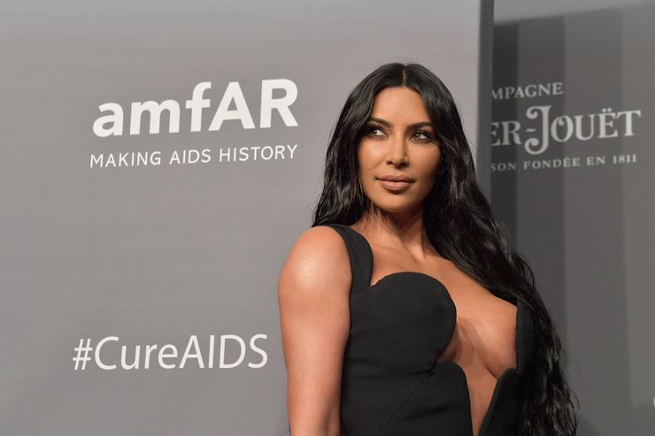 Kim Kardashian-West Struts Through Paris In A See-Through Catsuit
