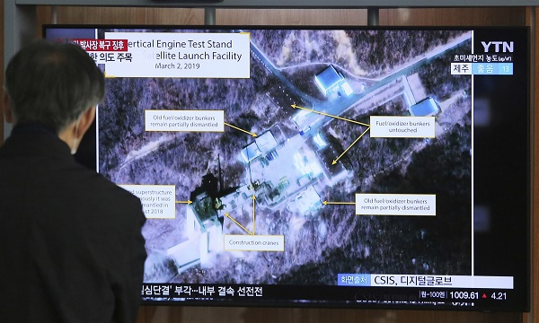 North Korea rocket site is being monitored in real time, U.S. official says