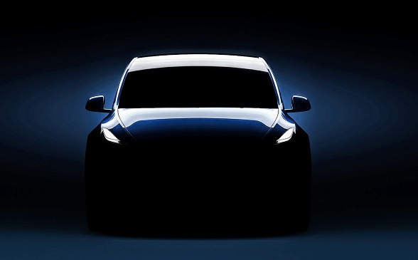 Tesla Drops 1st Real Image Of The Model Y As Event Invites Go Out