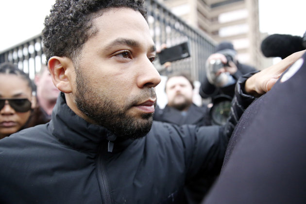 Jussie Smollett Charged By Grand Jury Over Empire Star's Alleged Hate Attack Hoax