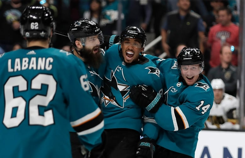 Pavelskis painful goal sparks Sharks take down of Vegas