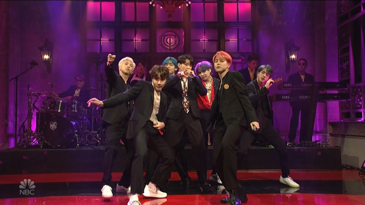 BTS performed on SNL and fans went crazy