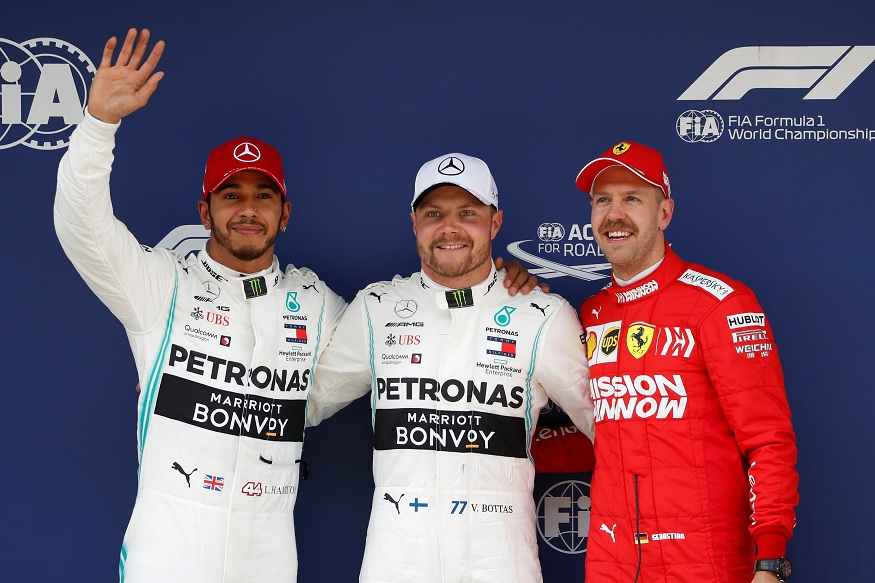 Chinese GP: Bottas Takes Pole For His 1000th F1 Race, Hamilton Finishes 2nd in Qualifying