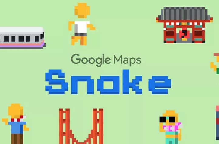 Google adds Snake to Maps for April Fools Day gag