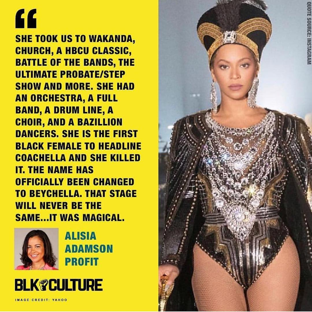 Beyoncés Homecoming is as black as it can be