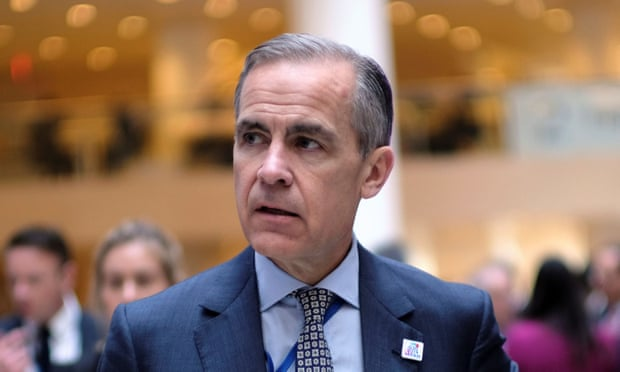 Mark Carney tells global banks they cannot ignore climate change dangers