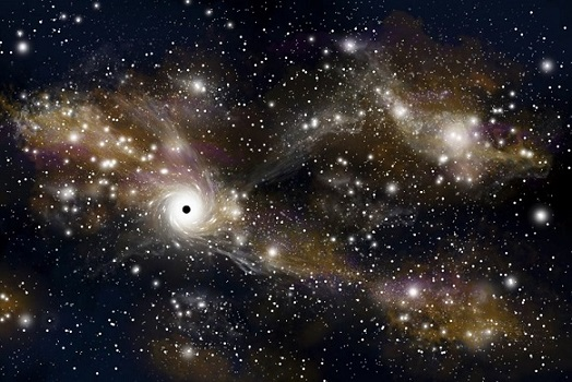 These Wisps Around Black Holes Could Reveal How the Cosmic Beasts Eat