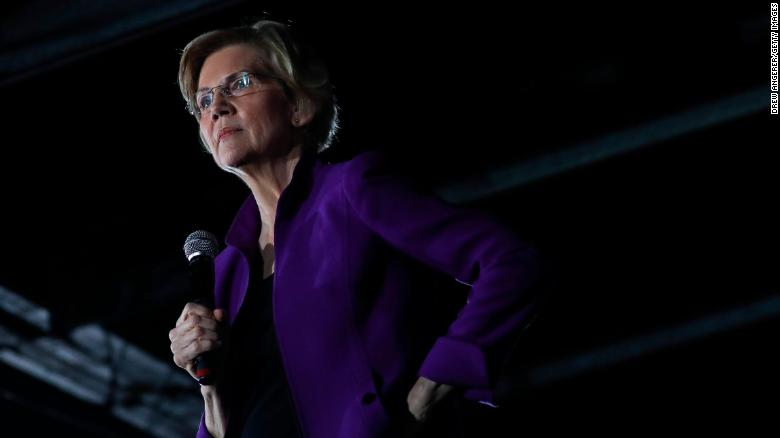 Elizabeth Warren says House should start impeachment proceedings for Trump