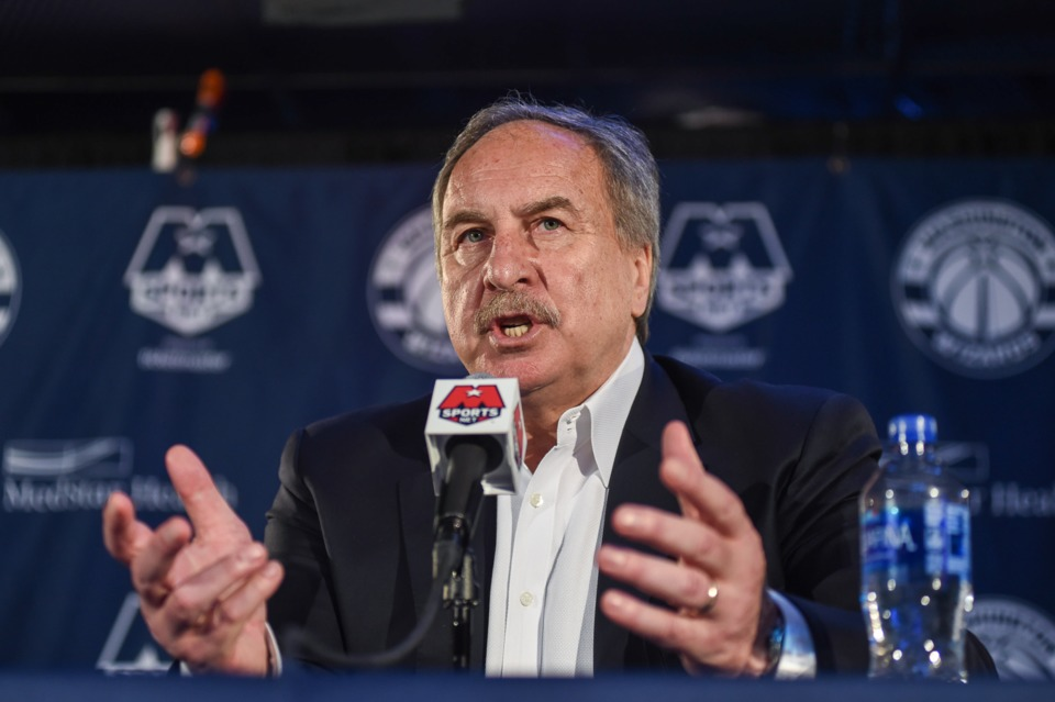 Ernie Grunfeld fired as president of the Washington Wizards