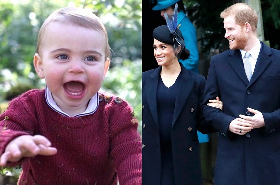 Meghan Markle and Prince Harry wrote a sweet birthday message for Prince Louis, but some people think it broke royal protocol