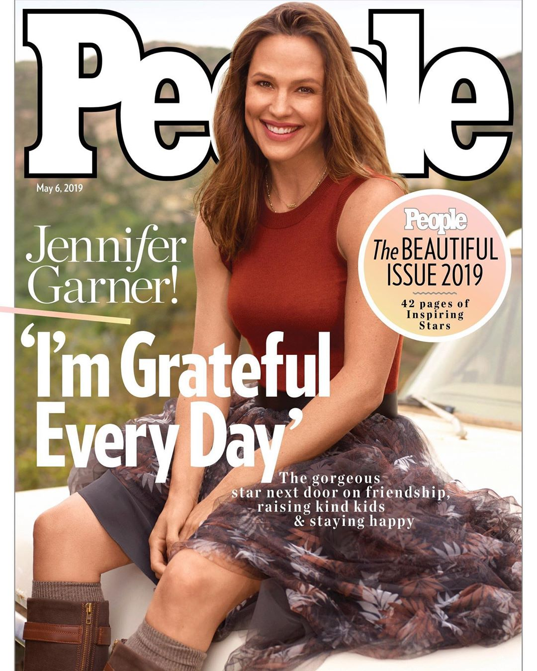 Jennifer Garner thinks her face on cover of Peoples Beautiful Issue is so ridiculous