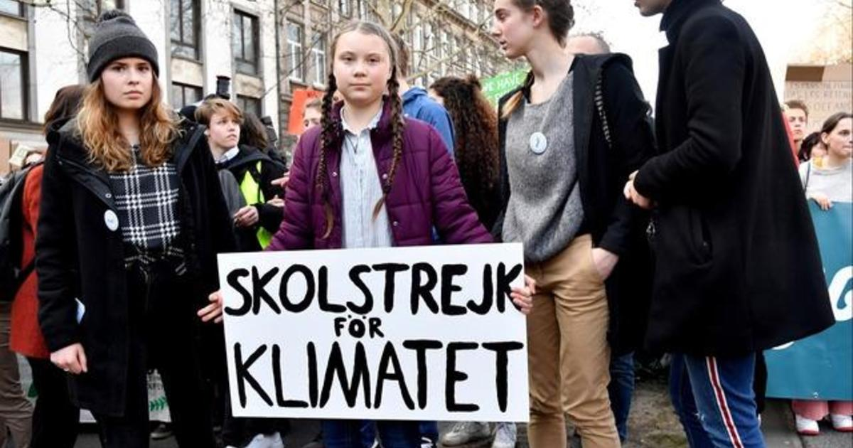 The Greta Thunberg effect: her activism in London in two minutes - video