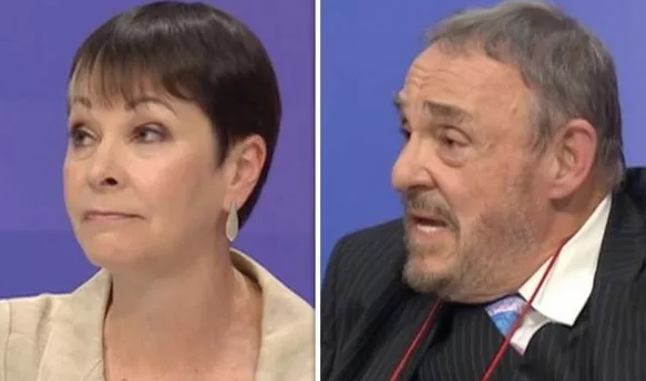 Lord of the Rings star in fiery CLASH with Caroline Lucas on BBC QT Our last GREAT hope