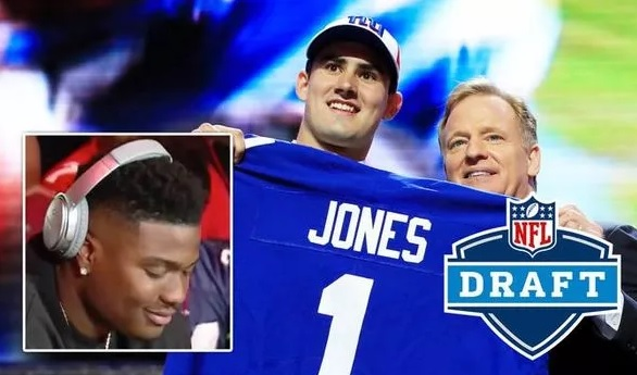 NFL Draft 2019: Giants pick Daniel Jones, Dwayne Haskins LAUGHS and fans are shocked
