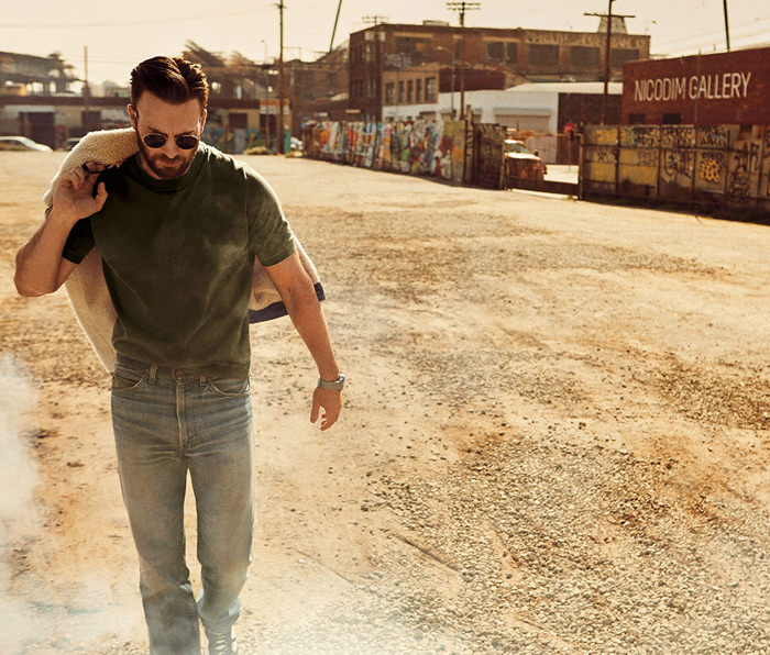 Avengers: Endgame Star Chris Evans for Mens Journal Magazine
