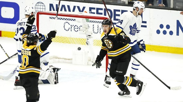 Bruins victory over Leafs ensures an American team will hoist the Stanley Cup