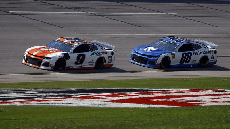 Elliott wins NASCAR race at Talladega