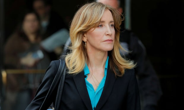 Felicity Huffman to plead guilty in college admissions cheating case