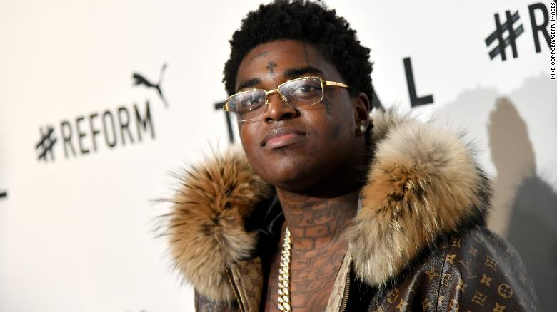 Rapper Kodak Black is arrested on firearm charges at Rolling Loud Festival
