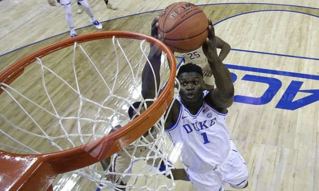 Pelicans primed for Zion Williamson after winning No 1 pick in NBA draft