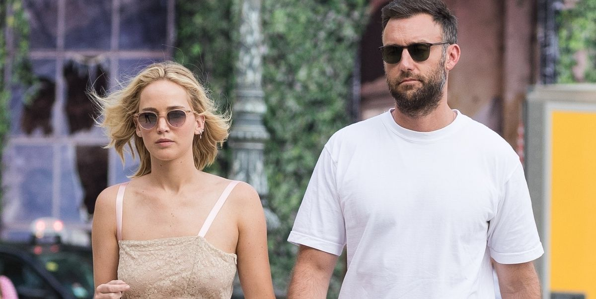 Inside Jennifer Lawrence and Cooke Maroneys Low-Key Engagement Party