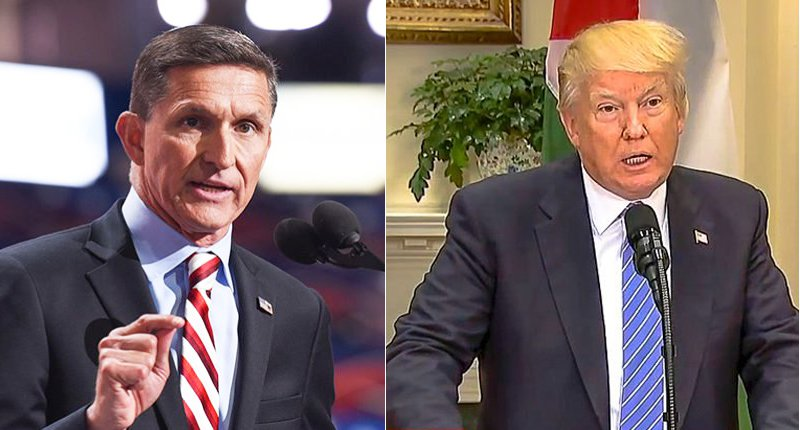'Treason!' Trump calls for 'long jail sentences' for investigators after Mike Flynn bombshell