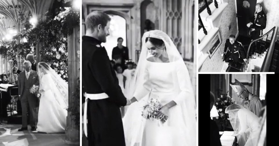 Harry and Meghan share behind-the-scenes pictures of wedding