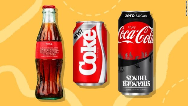Coca-Cola is bringing back New Coke in honor of Stranger Things