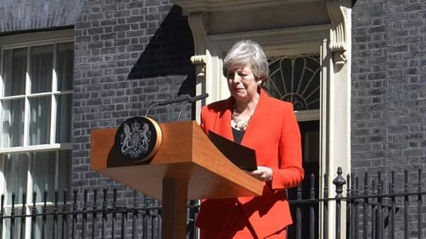 Theresa May Announces Resignation, New Prime Minister Will Takeover In July