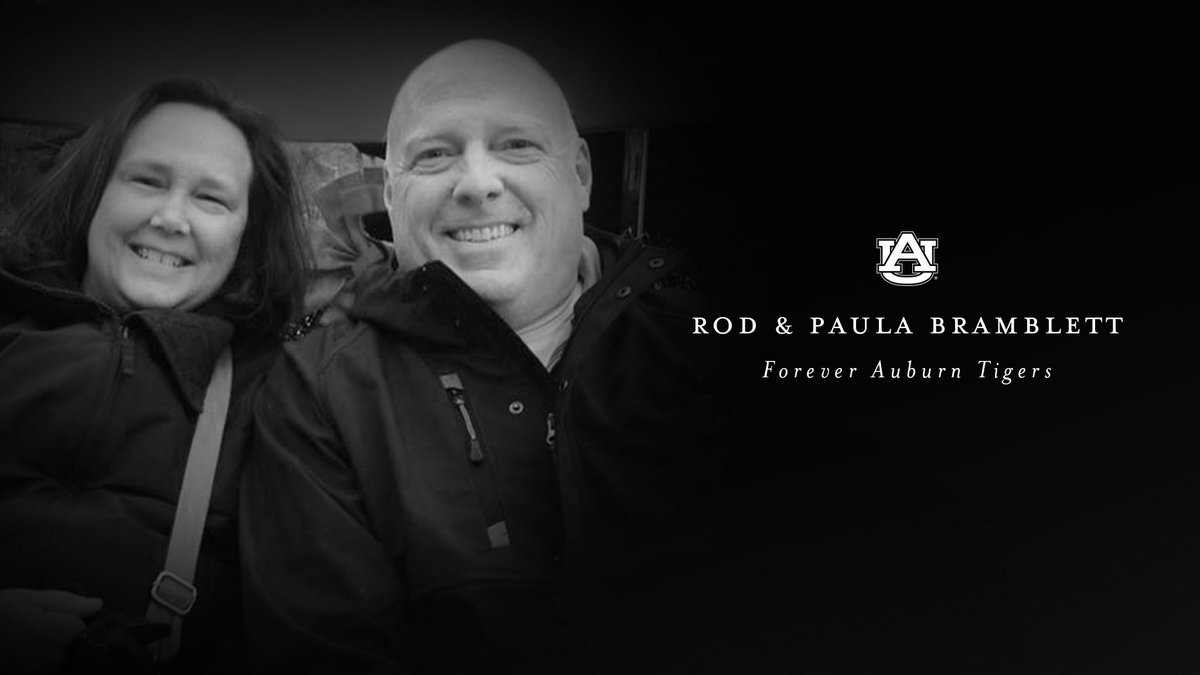 Auburn radio voice Rod Bramblett, wife Paula, die following car accident