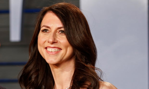 MacKenzie Bezos pledges at least half her wealth to charity