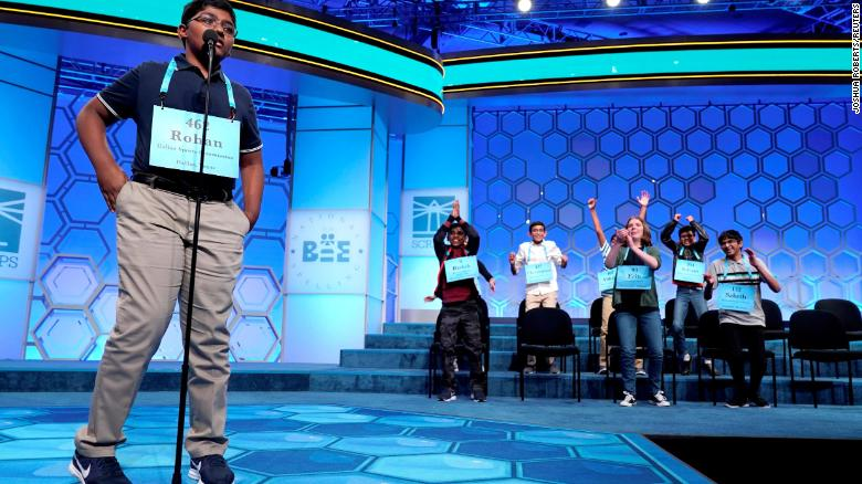 A historic win. The National Spelling Bee has not one, but 8 champions