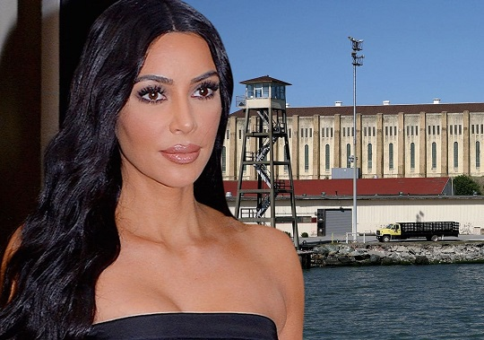Kim Kardashian Spends Day At San Quentins Death Row to Visit Kevin Cooper