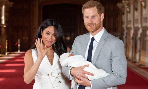 Harry and Meghan reveal royal babys name is Archie