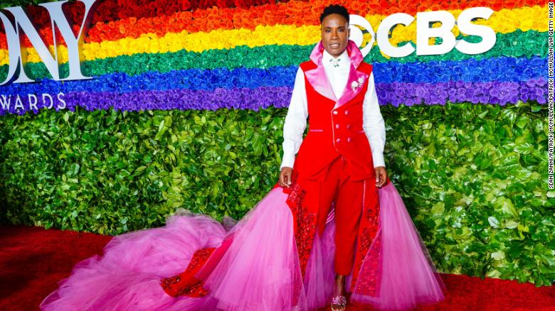 Billy Porter wore a gender-fluid uterus suit to the Tony Awards