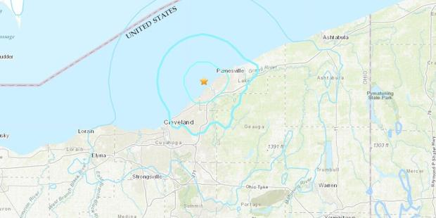 Earthquake in Cleveland, Ohio: United States Geological Survey confirmed a 4.0 magnitude quake