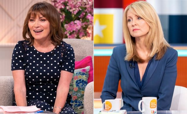 Lorraine Kelly And Esther McVeys Beef Steps Up Another Notch